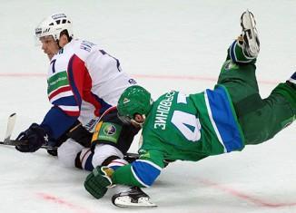 У хоккейной команды «Салават Юлаев» был первый выезд и первое поражение