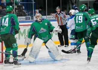Второе поражение команды «Салават Юлаев»