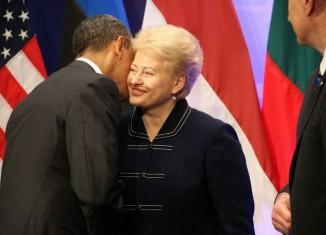 Даля Грибаускайте против отмены санкции относительно России